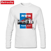 Distressed Classy Classic T Shirts Homme Funky Graphic Cotton Tees Shirt Long Sleeve JDM T Shirt