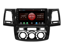 64 GB rom 8 core Android 8.1.2 auto GPS per TOYOTA Hilux 2012 MT touch screen radio DSP stereo di navigazione carplay multimedia FM