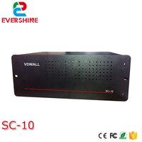 Oferta Video todo Color pantalla LED envío tarjeta caja SC 10 soporte 10 piezas envío tarjeta