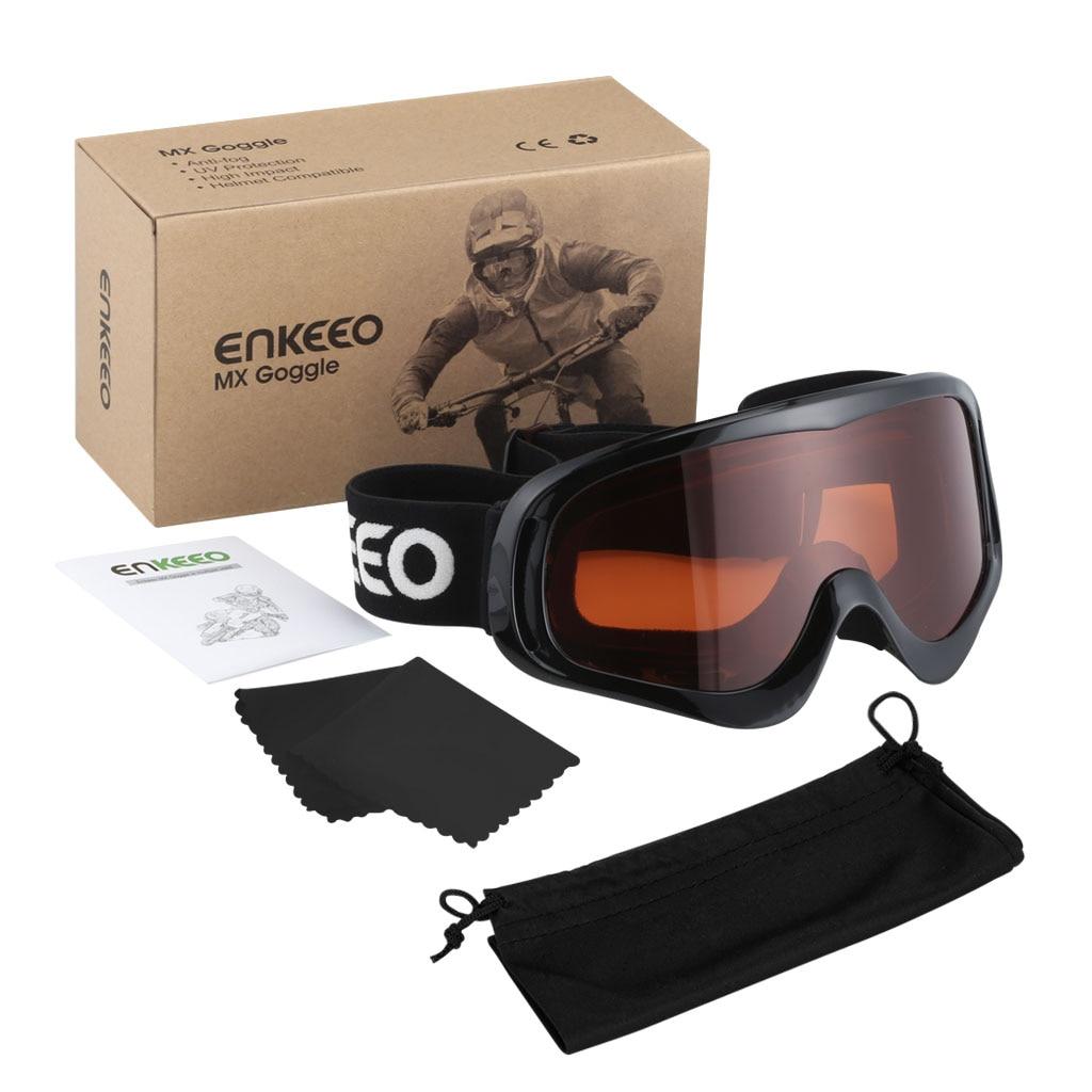 enkeeo casco sci  Enkeeo Flessibile Sci Ciclismo Moto Occhiali Antivento Occhiali Anti ...