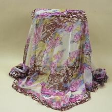 ФОТО #s101,100% silk georgette scarf handkerchief,color:as pictures,size:50*170cm