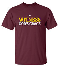 Witness Gods Grace T-Shirt christian faith gospel jesus christ good news love  Free shipping Tops Fashion Classic Unique gift