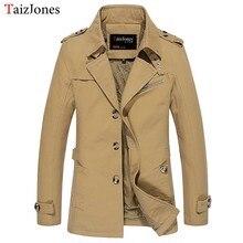 Jacke mantel frühling und herbst männer jacke casual gewaschen lange oberbekleidung & mäntel herren baumwolle jacken winter daunenparka 1306 m-5xl