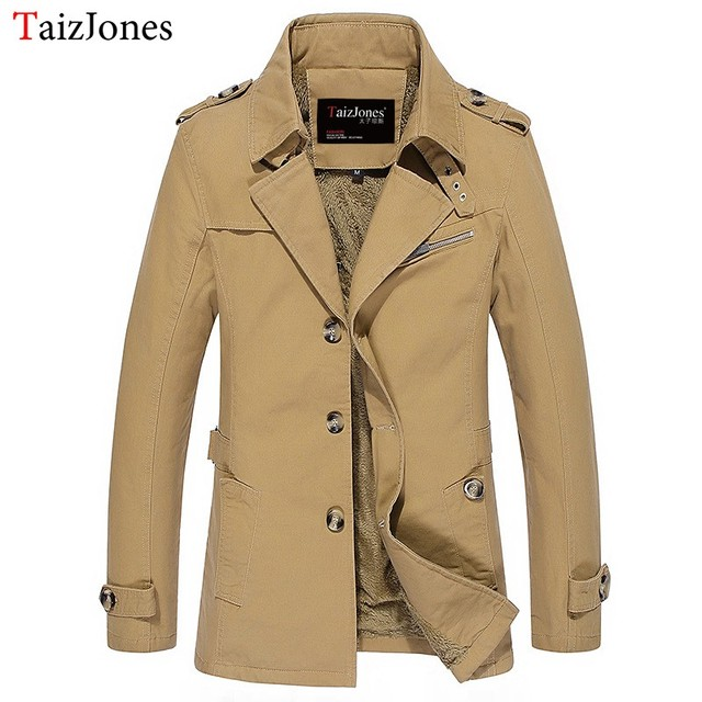 jacket coat spring and autumn men jacket casual washed long outerwear & coats mens cotton jackets winter down parka 1306  m-5xl