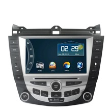 8″ HD Car DVD Player GPS Navigation System for Honda Accord 2003 2004 2005 2006 2007 Dual zone Climate Control Radio Bluetooth