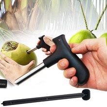 Нержавеющая сталь открывалка для кокоса сверлильный инструмент нож вечерние кухонные устройства для овощей и фруктов фрукты cucina аксессуары