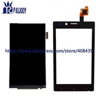 חדש LCD לוח מגע עבור Sony Xperia J St26 ST26i ST26a מגע LCD תצוגת מסך Digitizer עדשת זכוכית חיישן