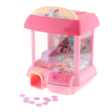 Электронный коготь игрушка ловля кукла захват машина аркадная игра игрушка, автоматическая монета, звук и светильник