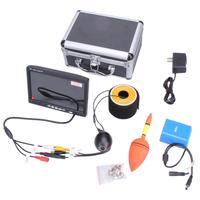30 м Профессиональный Рыболокаторы 7 дюймов ЖК дисплей монитор 1000TVL Камера Подводная охота Видео Камера монитор с роскошью Алюминий случае