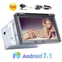 Android 7.1 Nougat 2 Din 8″ Car DVD Player For Hyundai Elantra 2016 Car Stereo Support GPS Navi/SWC/Bluetooth+Wireless Camera