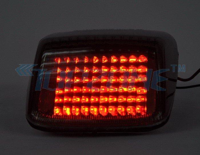 LED Motorcycle Tail font b Light b font Integrated Turn signal For HARLEY DAVIDSON DEUCE