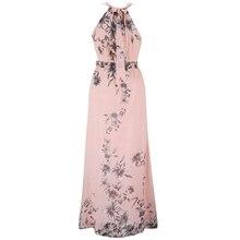 Women Plus Size Dress Summer Fashion Bahemian Beach Chiffon Print Dress Sexy Sleeveless Off The Shouder Wasit Maxi Dresses 6XL