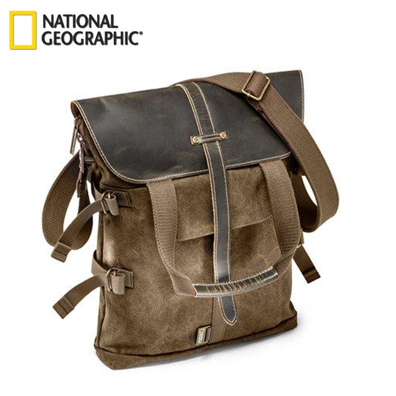 Livraison Gratuite Nouveau National Geographic NG A8121 Sac À Dos Pour DSLR Kit Avec Lentilles Ordinateur Portable En Plein Air En Gros