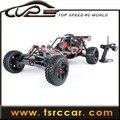 1/5 vendas carro 26cc RC Baja Rovan 5B 2.4 G 3 canal controlador