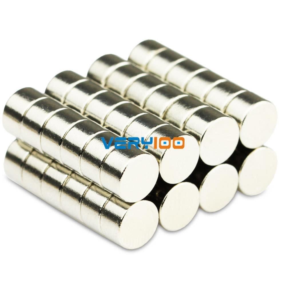 Neodymium Disc Magnets 5mm Dia x 3mm Thick Grade N50 Small /& Strong Round Magnet