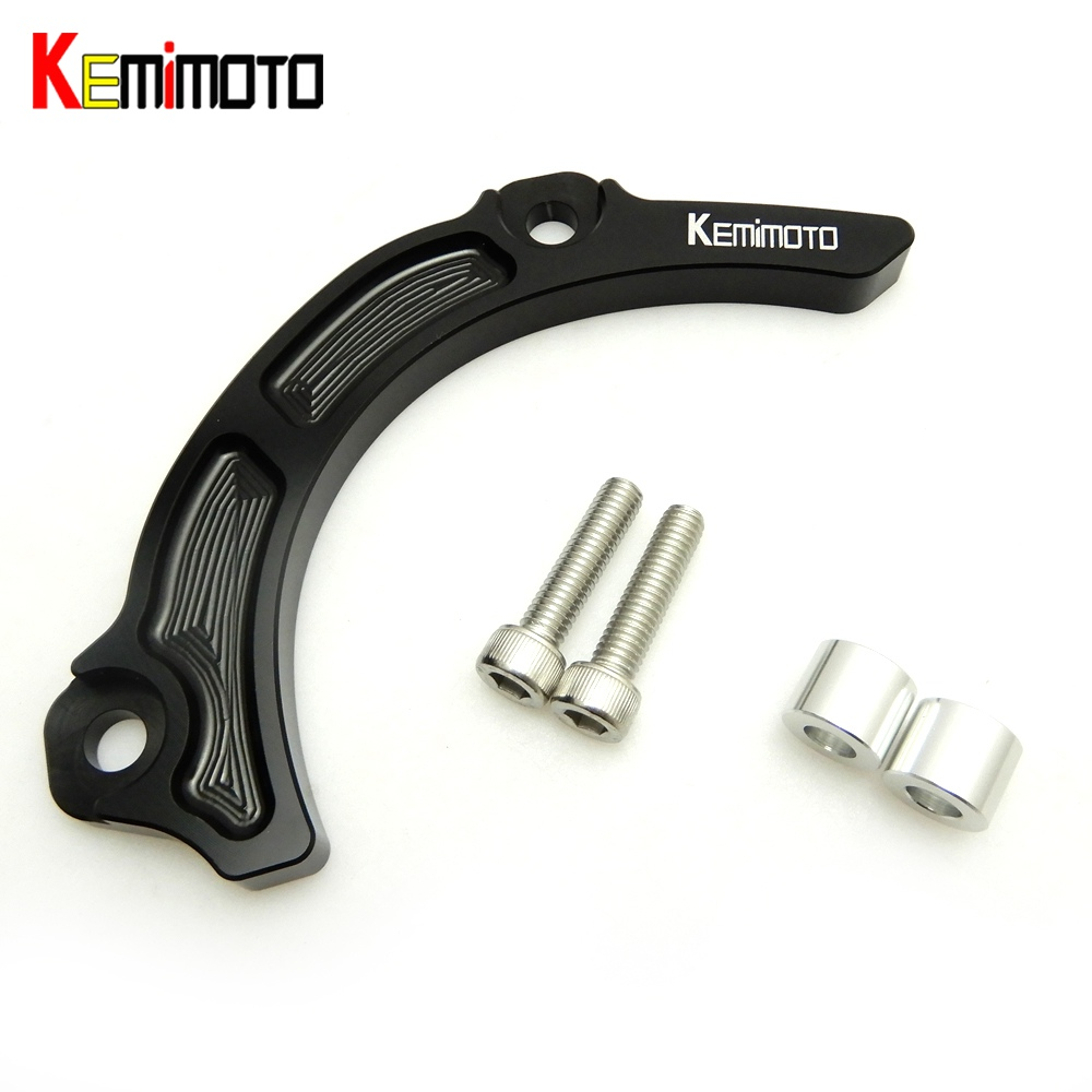 Kemimoto cnc billet aluminum case saver case guard engine protector for suzuki ltr450 ltr 450 2006