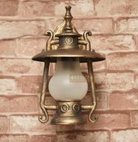 Fashion vintage bronze color waterproof outdoor light retro lantern lantern wall lamp balcony lamp garden lights project light