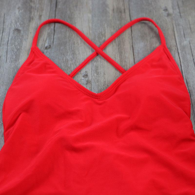 Women Swimwear Sexy high cut one piece swimsuit