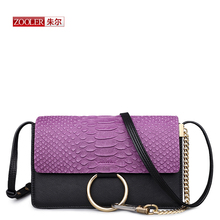 ZOOLER Hot genuine leather bag real leather women messenger bags luxury designed stylish woman shoulder bag bolsa feminina #3653