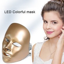 7 colors Light Foreverlily Beauty Photon LED Facial Mask Therapy Skin Care Rejuvenation Wrinkle Acne Removal Face Beauty Spa цена