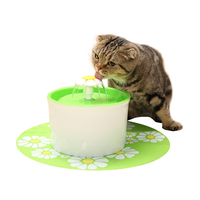 Pet Dog Automatic Feeders Water Fountain Electric Water Feeder Cat Drinking Dispenser Container Accessories Supplies Products