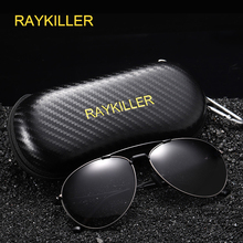 RAYKILLER Men's Sunglasses Brand Designer Pilot Polarized Male Sun Glasses Eyeglasses gafas oculos de sol masculino For Men цена