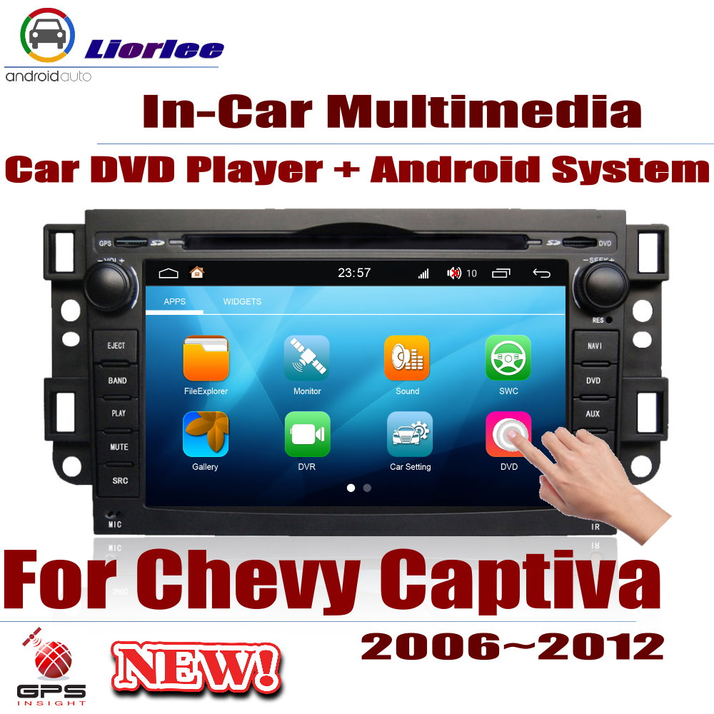 For Chevrolet Chevy Captiva 2006~2012 Car Android Player DVD GPS Navigation System HD Screen Radio Stereo Integrated Multimedia