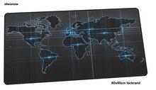 Карта мира коврик для мыши 80×40 см мультфильм коврики для мыши лучший игровой коврик для мыши геймер эстетизм коврики для мыши с вашим рисунком клавиатуры ПК pad