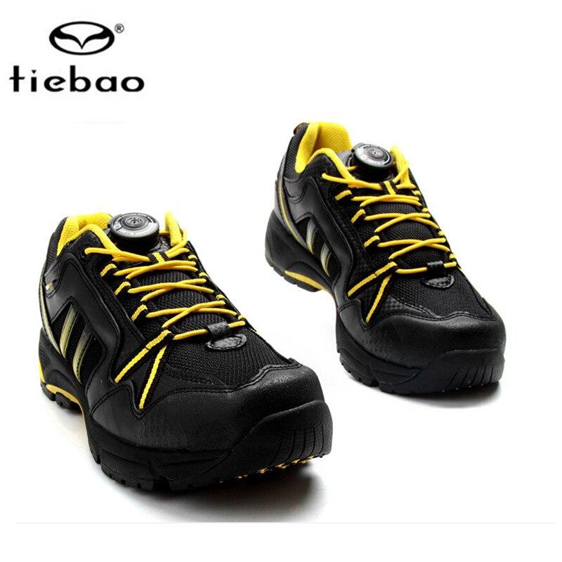 Tiebao MTB Cycling font b Shoes b font 2018 zapatillas deportivas mujer Mountain Biking font b