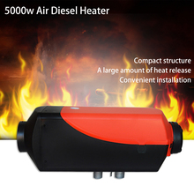 цены 24V 5000W Air Diesels Fuel Heater Single Hole 5KW For Trucks Boats Bus Car Heater