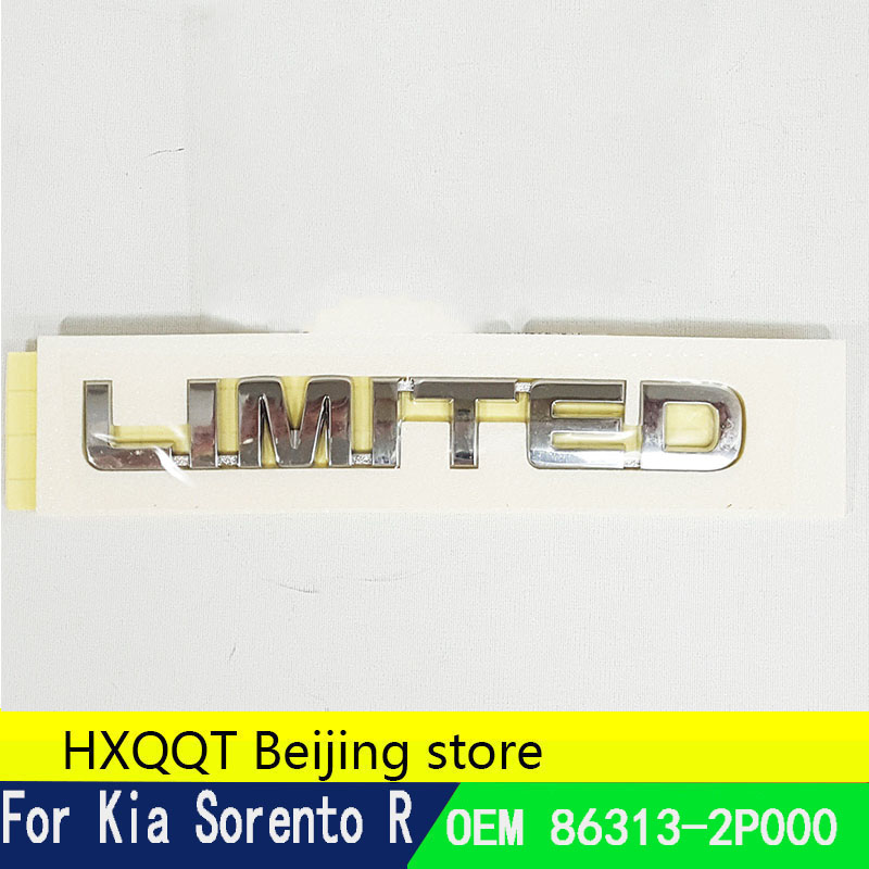 LIMITED  Emblem 86313-2P000 KIA Genuine Parts Kia Sorento 2009~2014//SORENTO R