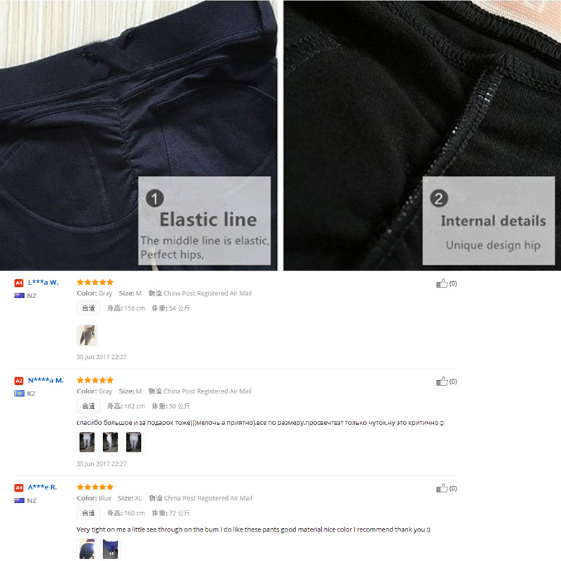 HEYJOE Leggings High Quality Low Waist Push Up Elastic Casual Leggings Fitness for Women Sexy Pants