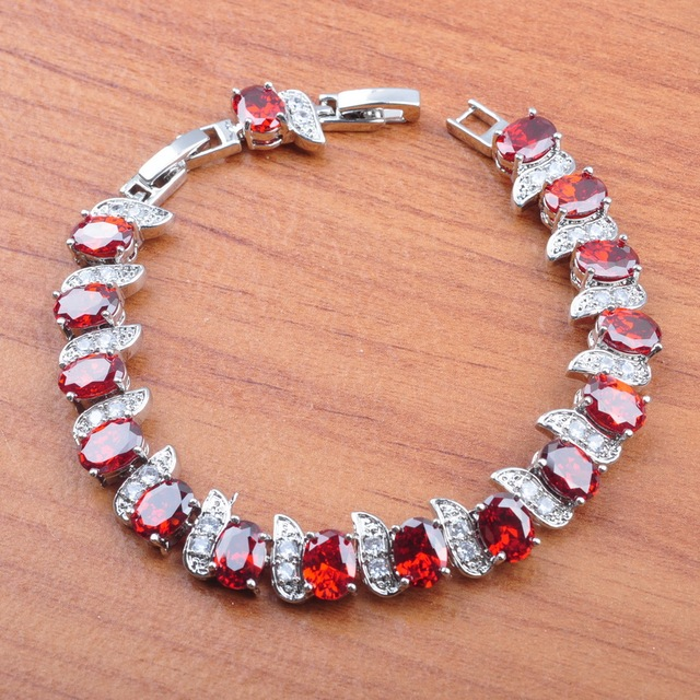 Bridal Jewelry Amazing Red...