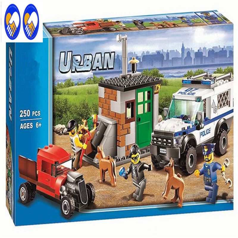 A Toy A Dream Compatible Lepin City blocks Block Police Dog Unit 60045 Building Bricks BELA 10419 Policeman Toys For Children compatible lepin city block police dog unit 60045 building bricks bela 10419 policeman toys for children 011