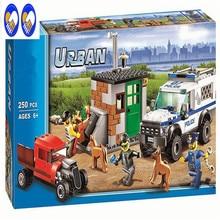 A Toy A Dream Compatible Lepin City blocks Block Police Dog Unit 60045 Building Bricks BELA