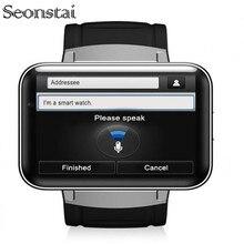 Seonstai DM98 2.2 Inch Android 4.4 3G Smartwatch Phone MTK6572 Dual Core 1.2GHz 4GB ROM Camera Bluetooth GPS Smart Watch