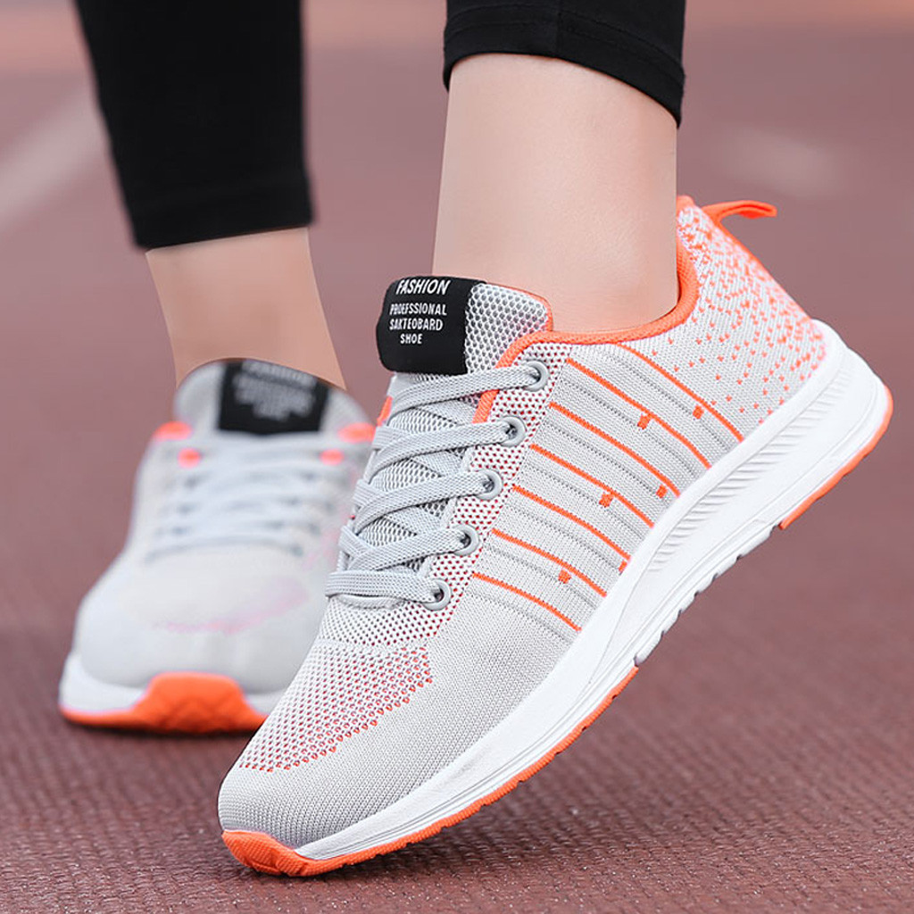 sneaker shoes women 2019 casual women sneakers outdoor sports women sport shoes breathable women shoes sport running#G3(China)