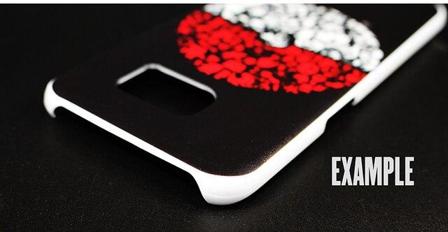 Dragon Ball Z Goku Hard White Phone Case for Samsung