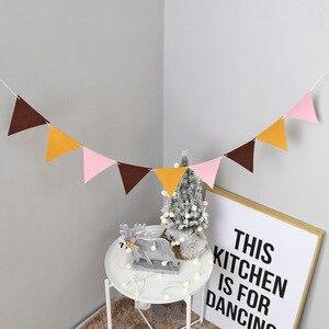 Image 5 - Banderines grises y blancos de calidad, pancarta de banderines para boda/Día de San Valentín/Cumpleaños, banderas de fiesta, guirnalda colgante, suministros de decoración