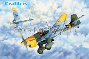 Trumpeter 03214 1/32 Junkers Ju-87B-2 Stuka сумка для мамы ju ju be be light onyx black beauty