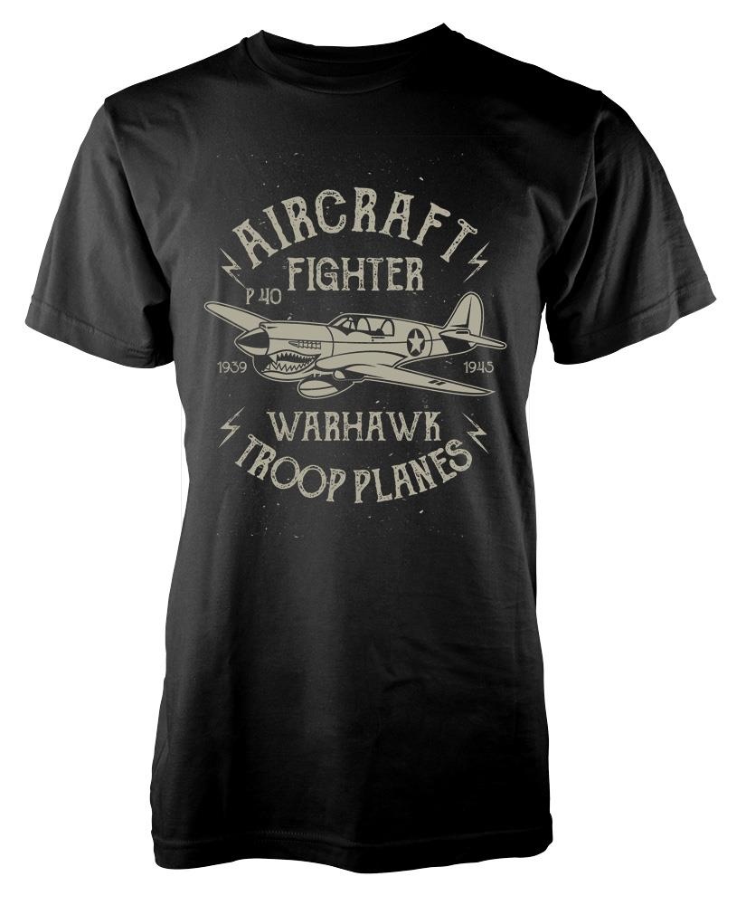 2019 New Arrival Men's Fashion Style Cool Fashion Casual Novelty Funny T-shirt Men Tee BNWT AIRCRAFT FIGHTER PILOT T Shirt