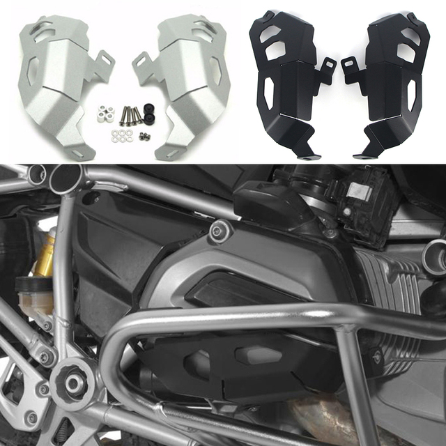$ US $26.68 For BMW R1200R/RS R1200RT 2013-2017 R1200GS/ADV lc R1200 GS Adventure Motorcycle Engine Cylinder Head Guards Protector Cover