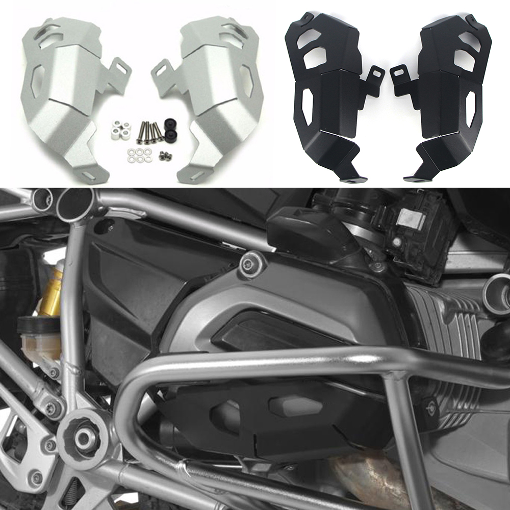 For <font><b>BMW</b></font> <font><b>R1200R</b></font>/RS R1200RT 2013-2017 R1200GS/ADV lc R1200 GS Adventure Motorcycle Engine Cylinder Head Guards Protector Cover image