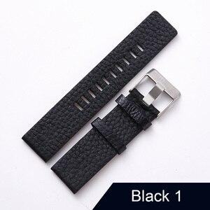 "Image 2 - חדש עיצוב שעון אביזרי שעון להקת עבור דיזל Watchbands 22 מ""מ 24 מ""מ 26 מ""מ 28 מ""מ רטרו שעון רצועה צמיד"