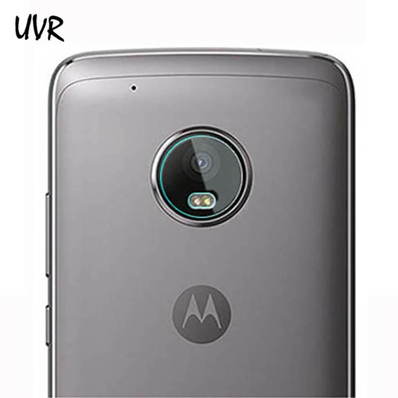 UVR 2PCS Soft Camera Lens Tempered Glass Film For Motorola Moto Z Z2 Play G6 G5 G5S G4 Plus M X4 Phone Lens Screen Protector