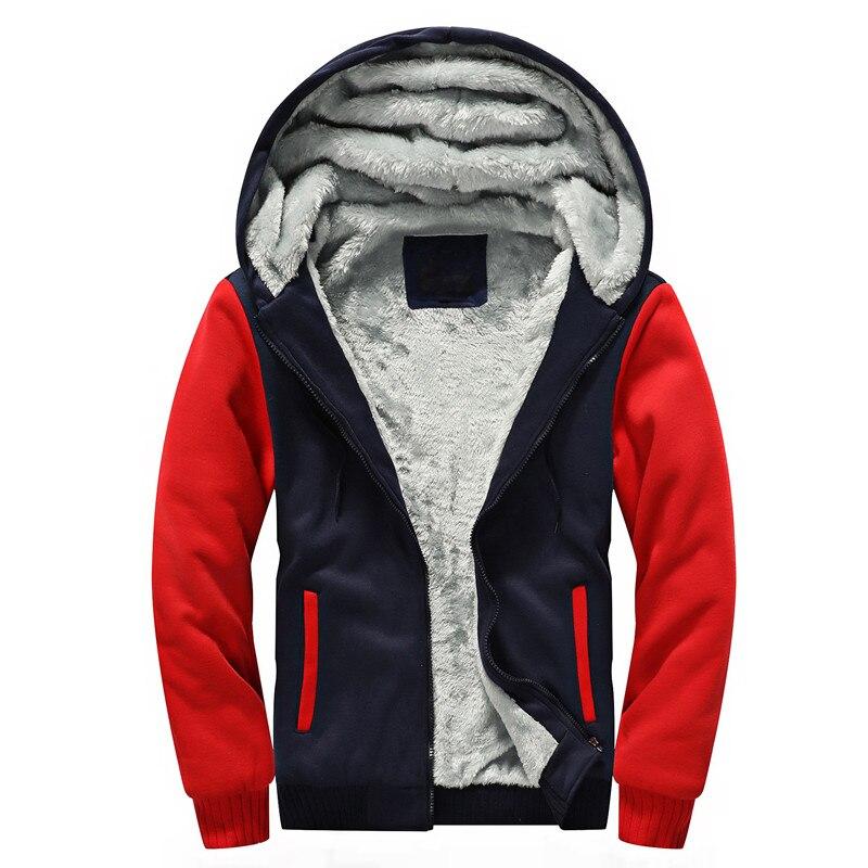 Nova Mens Engrosse Homens Com Forro de Lã de Veludo Com Capuz Moletom Com Capuz Camisola Casual Slim Fit Zipper Plus Size Cardigans Hoodies Jaqueta 5XL