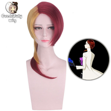 Anime Rutile Cosplay Wig Houseki no Kuni Costume Play Wigs red short wig Halloween Costumes Hair free shipping NEW High quality цена