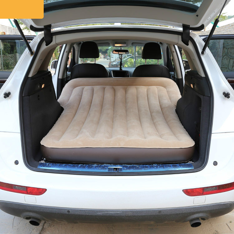 Portable auto-conduite Camping fournitures voiture voyage lit étanche coussin d'air lit usage général tour à bord