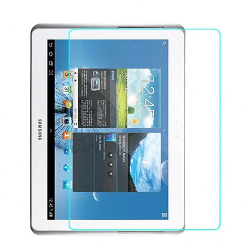 9H Tempered Glass for <font><b>Samsung</b></font> Galaxy Tab 2 <font><b>P5100</b></font> P5110 10.1 inch Glass for <font><b>Samsung</b></font> GT-<font><b>P5100</b></font> N8000 Screen Protector Glass Film image