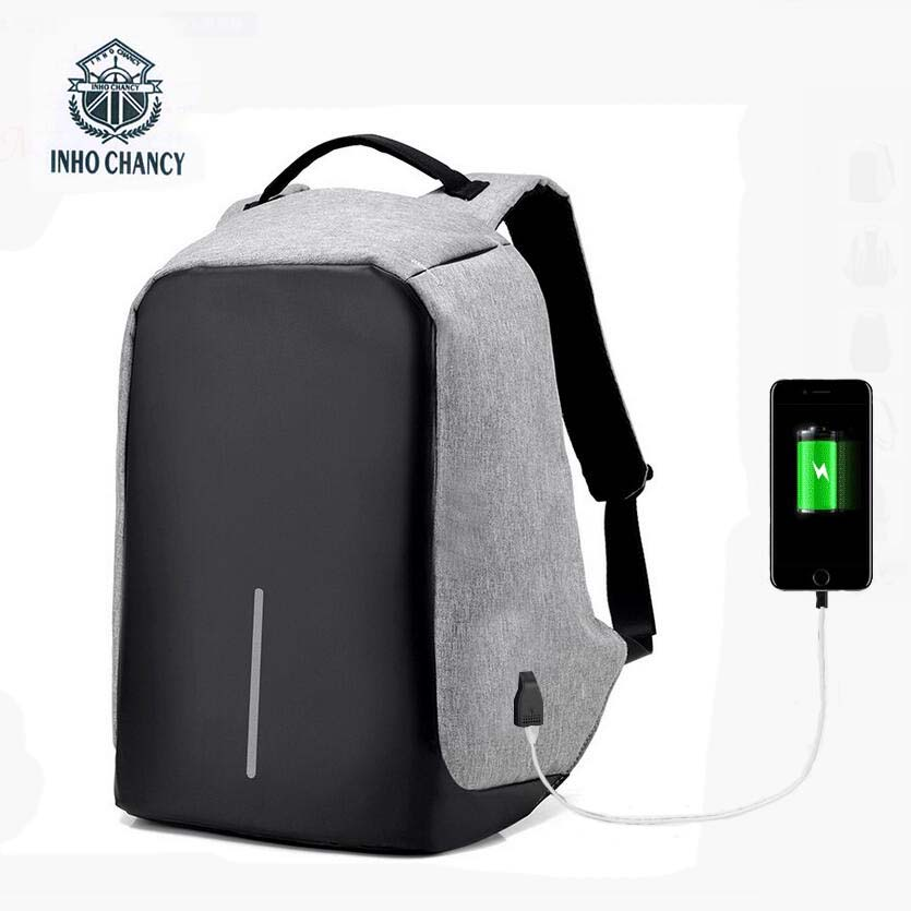Men and women waterproof nylon Travel anti theft backpack teenagers school girls school bag USB Charge 15inch Laptop mochila bts